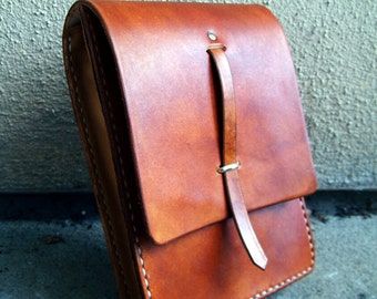 Made to Order -- Leather River Song Journal Pouch from Dr Who
