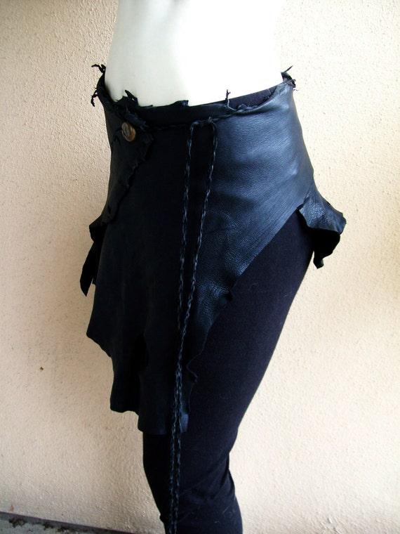 Reserved for Casey -- Dark Pixie Wrap Belt