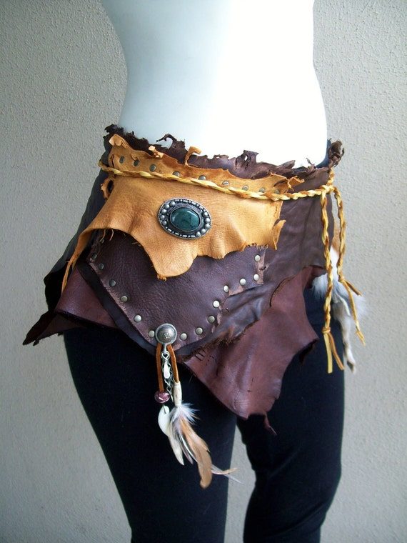 Reserved for Amy -- Gypsie Pouch Belt