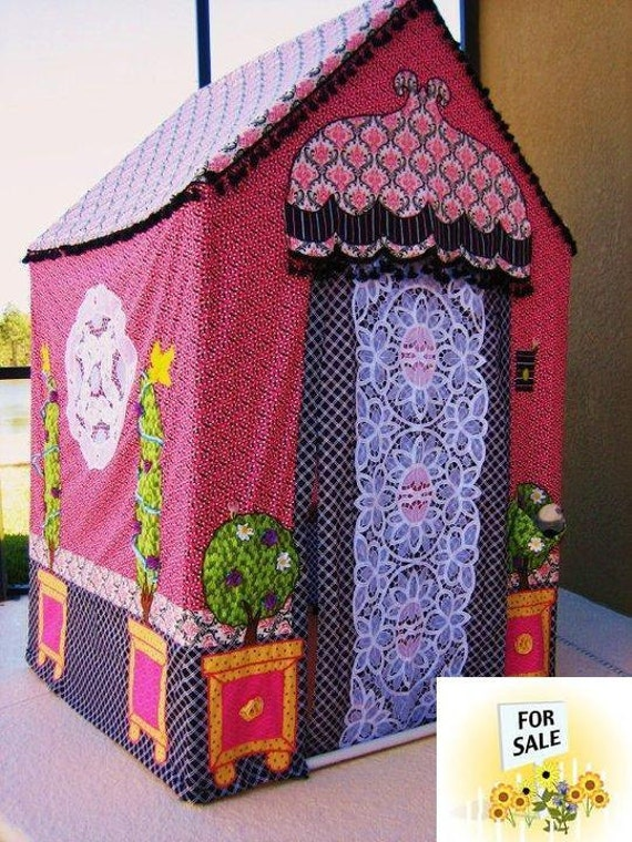 Kids Playhouse -Fantasy  Cottage - Made-To-Order