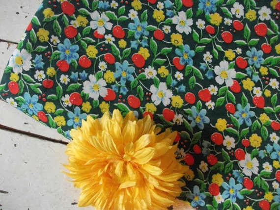 Adorable Vintage Fabric