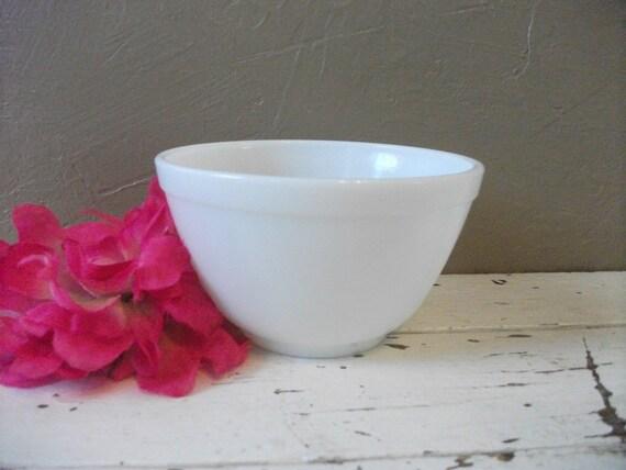 Vintage White Pyrex Bowl