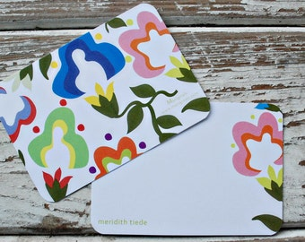 Personalized Notecards - Set of 8 - The Amelia Notes