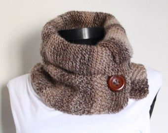 Neckwarmer ,Brown