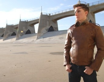 The ROCKET Jacket...  (in leather)