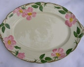 Franciscan Desert Rose Oval Serving Platter NOS