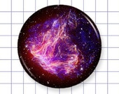 Galaxy Space Magnet - Design K - 1.25 Inch