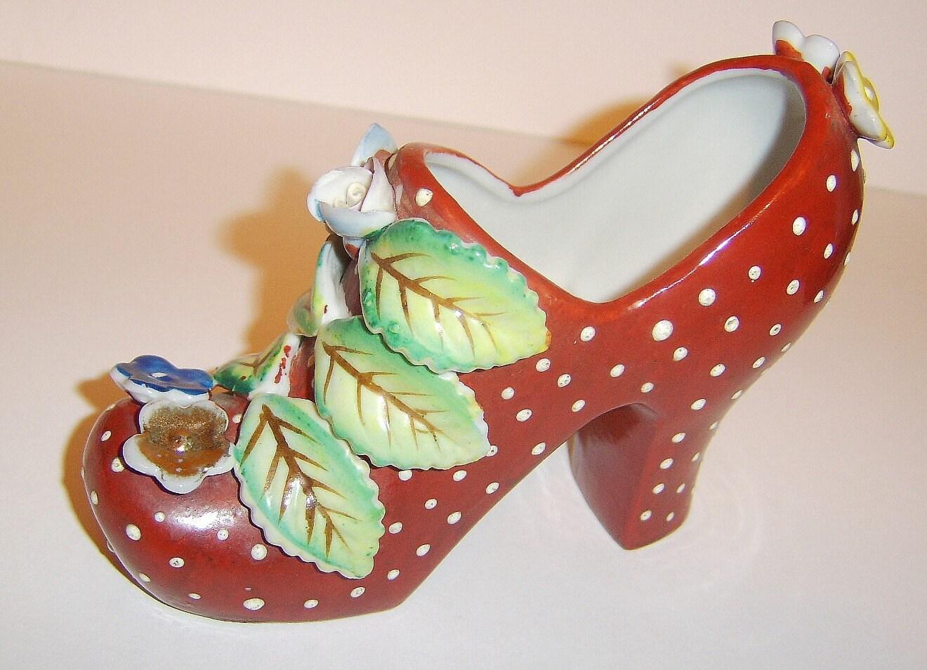High Heel Shoe Vase