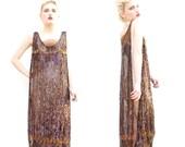 RESERVED 20s Flapper Dress - Party Dress - 1920s Dress - Art Deco Dress - Sequin Dress - Metallic Dress - Ziegfeld Follies - XS S M L