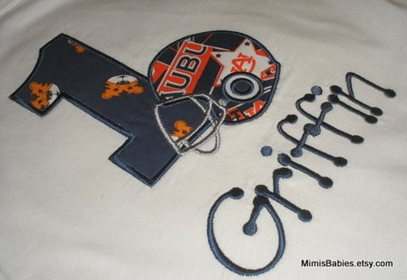 Auburn Birthday Shirt  Auburn Football Birthday Shirt