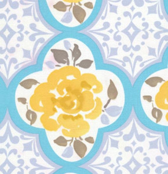 Items similar to 1 yd fabric dena designs tea garden for Dena designs tea garden fabric