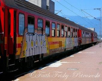 Kang Train- All Aboard 8x10 photograph