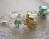 Holiday Bundles Earrings in Green and Gold