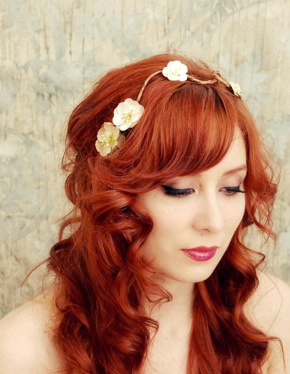 Fairy vines - floral hair clip