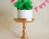 Gold Cupcake Stand. Mini Size