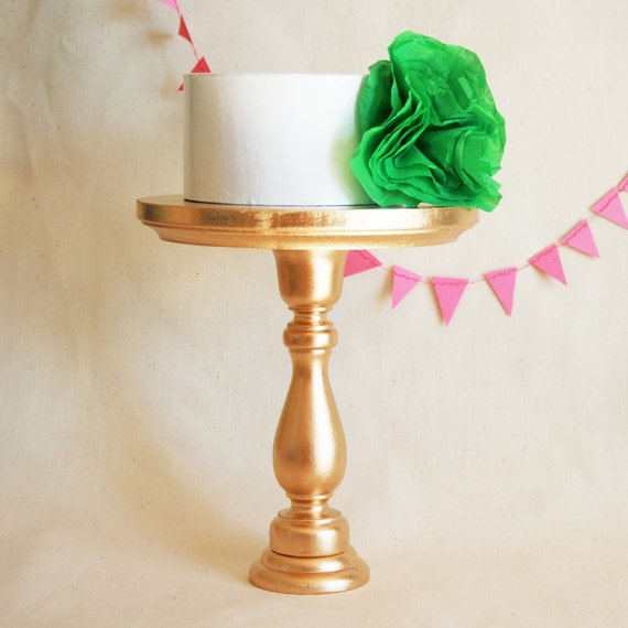 tall gold wedding cake stand gold cake stand small size 20738