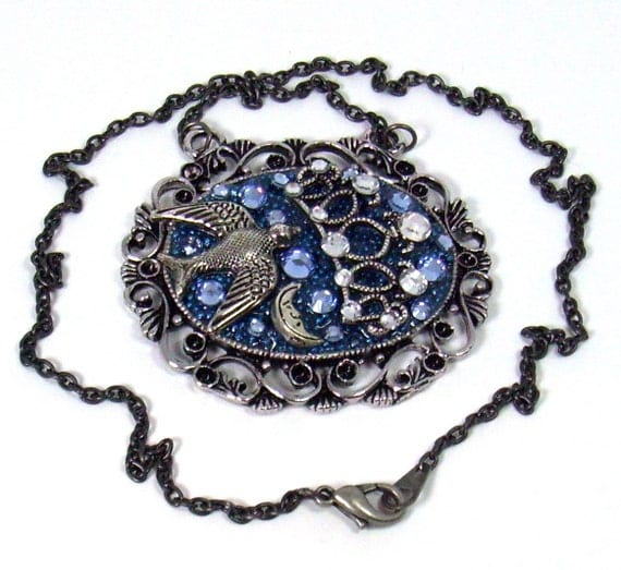 Ravenclaw's Diadem Harry Potter Inspired Pendant Necklace