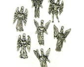7 Silver Plated Archangel Charms Arch Angels