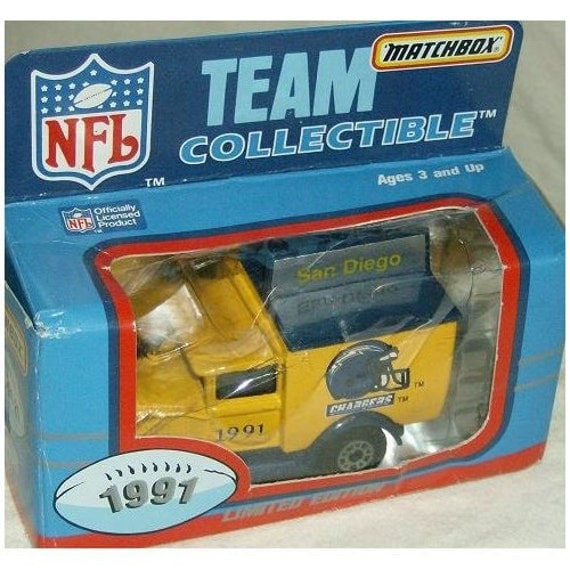 San Diego Chargers Car: Items Similar To San Diego Chargers 1991 Matchbox/White
