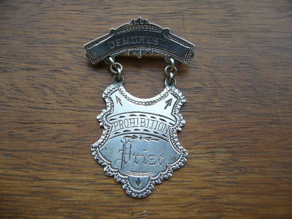 Demorest Contest Prohibition Medal