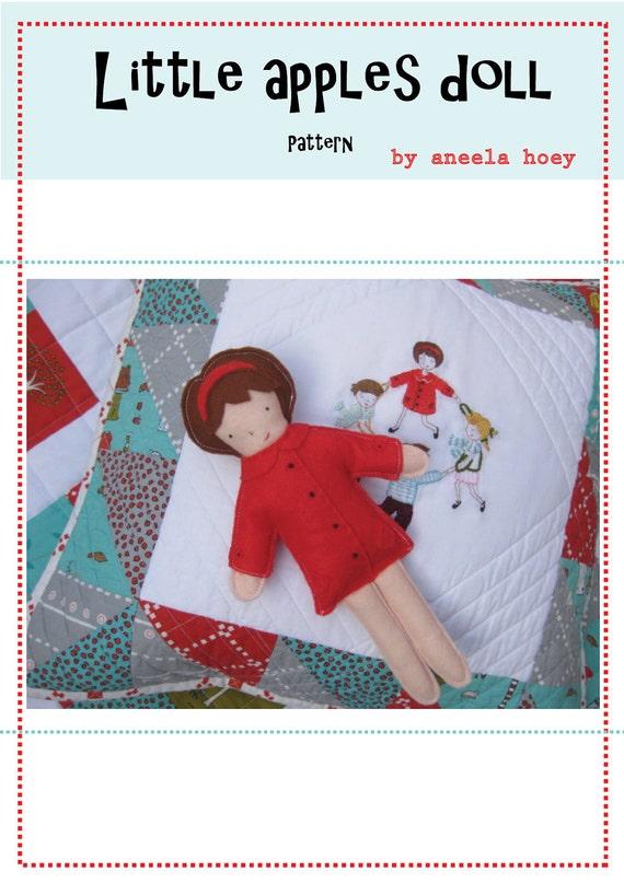 Little apples doll PDF pattern