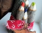 Cowboy Crayons Set 4
