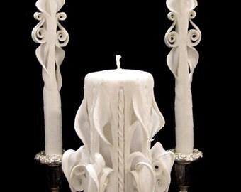 Ribbon Drop Candle Unity Set - Sm