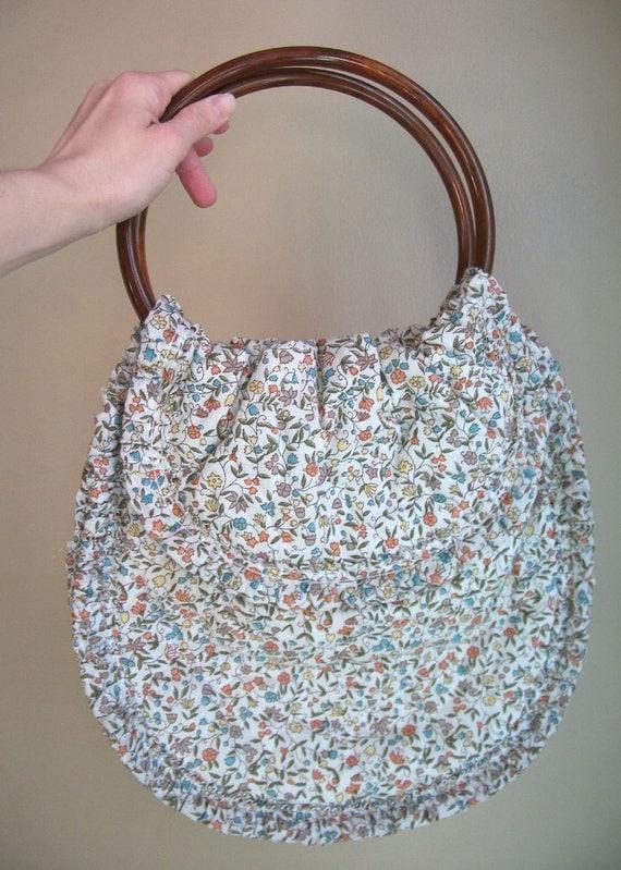 Vintage Quilted Handbag - Sweet N Ditsy