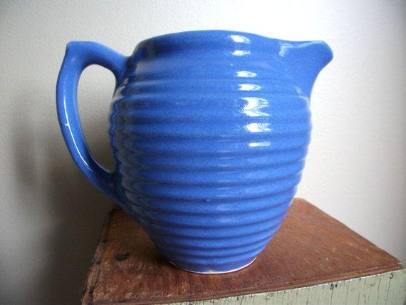 Vintage Pottery Pitcher - Pretty As A Pitcher