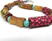 Spring Blossom exclusive fiber necklace