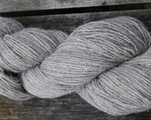 Gower Wool - Family produced Welsh wool - Natural Silver undyed 4ply weight