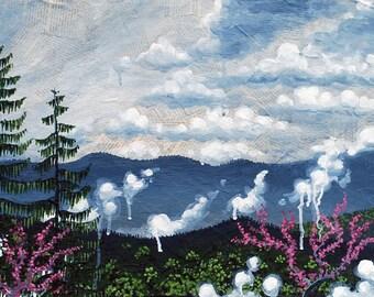 Spring Mountain Rain