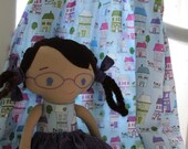 CUSTOM, matching doll and  petite 'fille dress