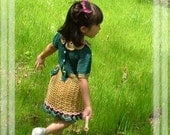 AMAZINGCROCHET Flower Girl Dress crochet pattern