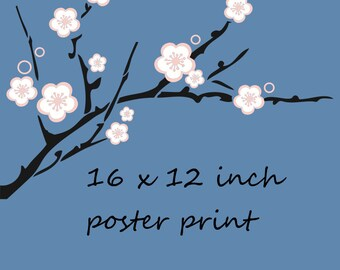 16 X 12 inch Poster Print of your choice from my range of photos to fit Large Ikea Frames