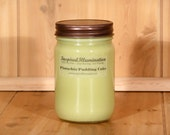 Pistachio Pudding Cake Scented 12oz Soy Canning Jar
