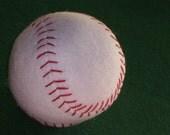 Felt Baseball Toddler Toy Plush - MADE TO ORDER