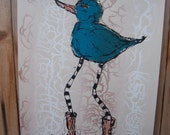 Bird with Boots