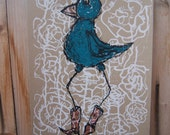 Bird with Boots (the friend)