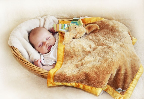 how to make a stuffed animal security blanket