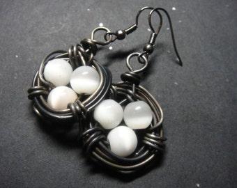 Birds Nest Earrings E-23