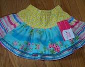 Summer apron skirt