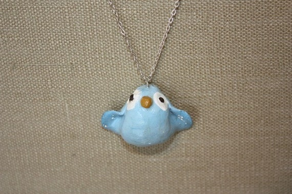 Happy Little Bluebird Necklace ///CLEARANCE///