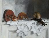 Postcard of original oil painting