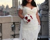 Custom Wedding Dress for 12/26/09 ALL ETSY HANDMADE WEDDING - CREATE YOUR OWN ONE OF A KIND DRESS