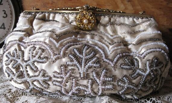 French Beaded Handbag