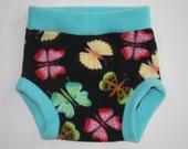 Buy 3 Get 1 Free Electric Butterfly Fleece Diaper Cover/Soaker
