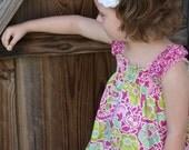 Sophie's Garden Shirred Summer Dress