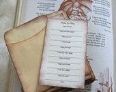SUSIE's Bridal Shower Games, Creative Guest Book Alternative, Library Cards Theme