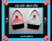 Cup Cake Quick Bag Crochet Patterns.Great For Mom's & Children.